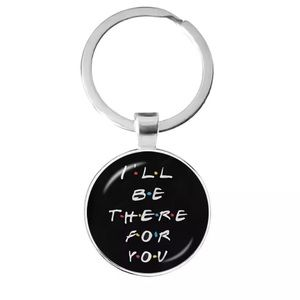 🎉 Friends TV I'll be there for you Keychain